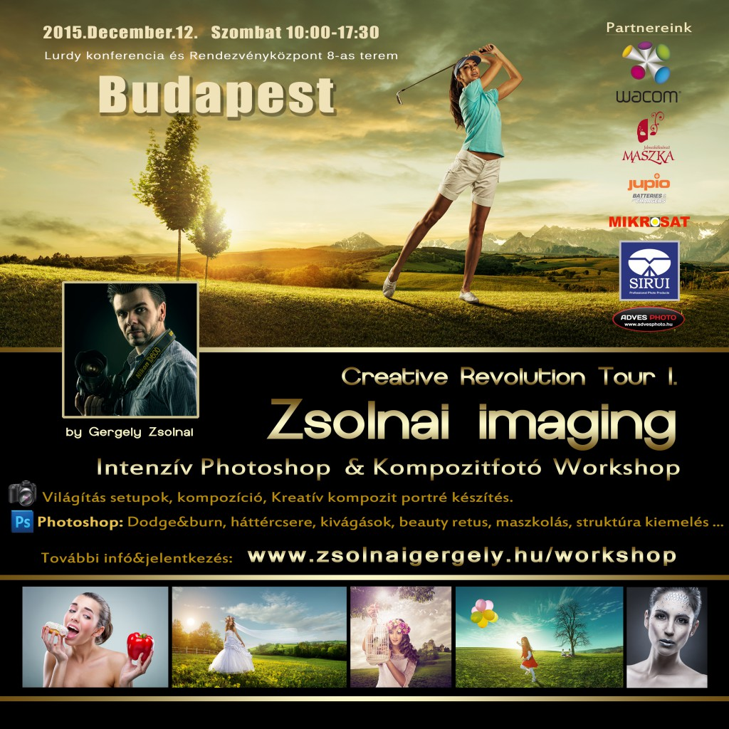 Woman golfer hitting the ball on the background scenery  beautiful