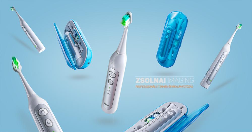 Dazzlepro elektromos fogkefe tárgyfotó
